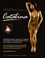 Catalina Yue album poster